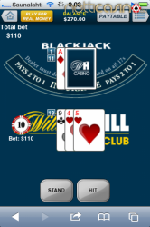 William Hill Casino Mobiili Casino Blackjack